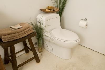 Linoleum Vloer Badkamer : Het installeren van linoleum vloeren in een badkamer zonder het