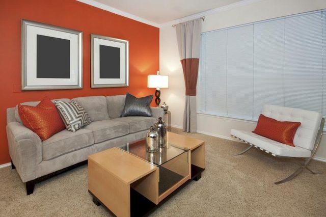 Kleuren die goed gaan met oranje in een slaapkamer - wikisailor.com