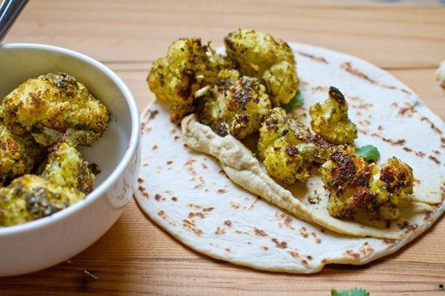 gebakken marokkaanse bloemkool
