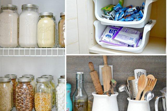 Keukenkast En Organiseren : Slimme kleine keuken opslag ideeën wikisailor