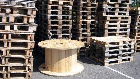 stoel van pallet maken