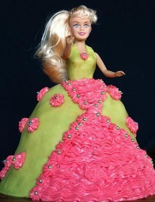 Voor Een Aanwijzingen Maken Van Jurk Barbie Het Taart qSVMzUp