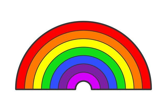 Wat zijn de kleuren in de regenboog for Wat zijn de koele kleuren