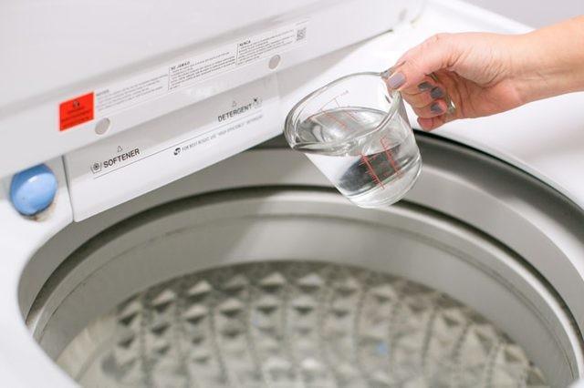 kleding ruikt naar zweet na het wassen