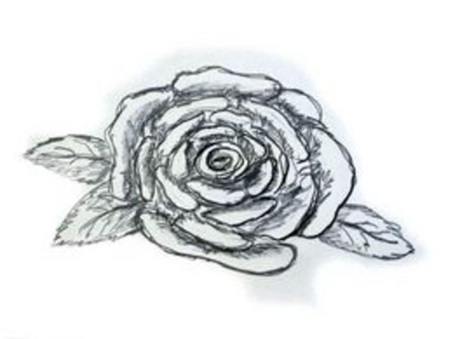 Uitgelezene Hoe teken je een roos gemakkelijk - wikisailor.com EG-94