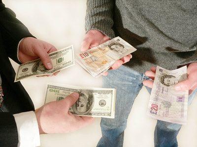 euro wisselen voor ponden