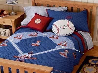 Jongens honkbal slaapkamer makeover ideeën wikisailor