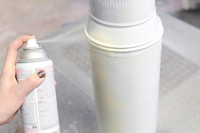Hoe te schilderen van gegalvaniseerde koker werk - Hoe te krijgen roze in verf ...