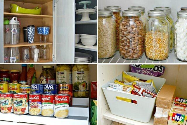 Keukenkast En Organiseren : Hoe te organiseren uw keukenkasten voor niet veel geld