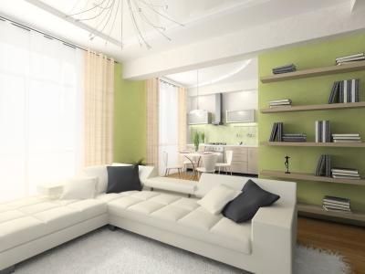 Lime groene slaapkamer dat idee n verfraait - Volwassen kamer kleuren ...