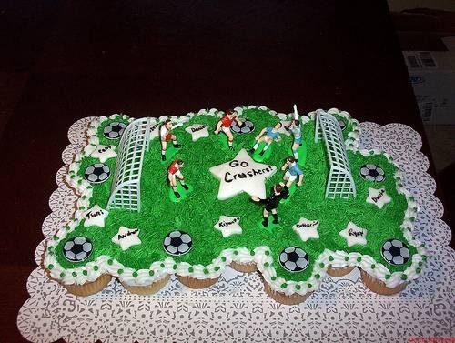 taart als cupcake