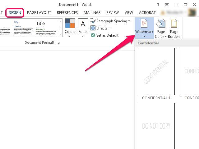 achtergrond voor word document