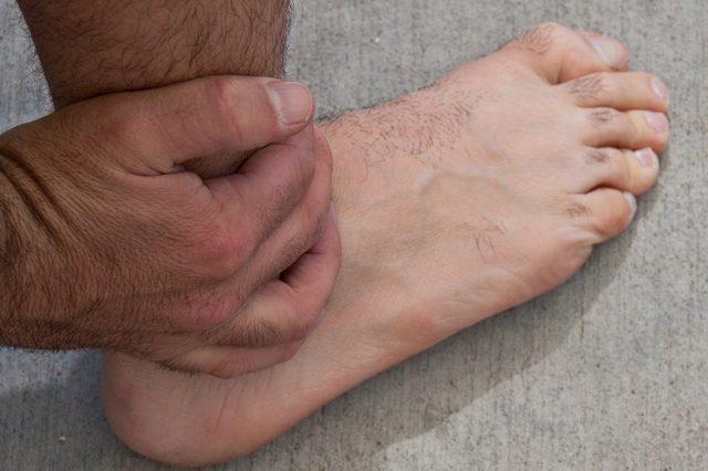 altijd pijnlijke voeten