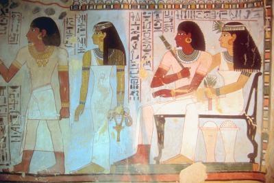 egyptische goden tekenen