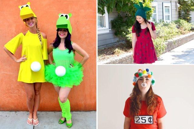 Wonderbaarlijk 20 goedkope & makkelijk zelfgemaakte Halloween kostuum ideeën voor SL-83